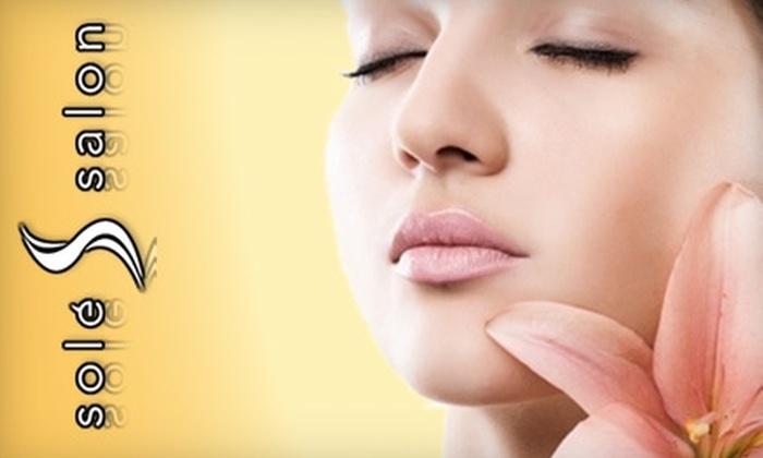 Solé Salon  - Emeryville: $49 for a Sixty-Minute Customizable Facial from Solé Salon and Spa