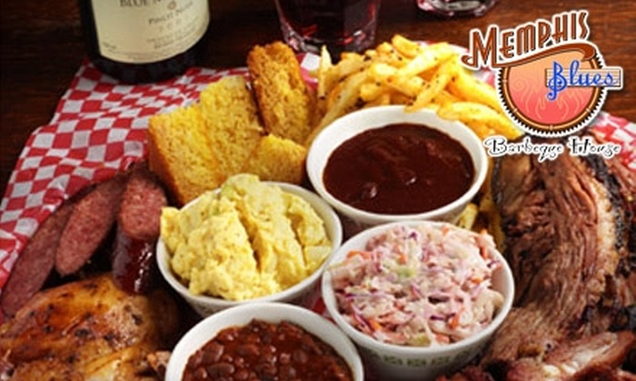 Memphis Blues Barbeque House - Central City: $10 for $20 Worth of Authentic, Slow-Smoked BBQ and More at Memphis Blues Barbeque House