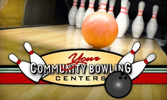 Community Bowling Centers - Multiple Locations: $5 for Three Games of Bowling Plus Shoe Rental and a Small Drink at Community Bowling Centers