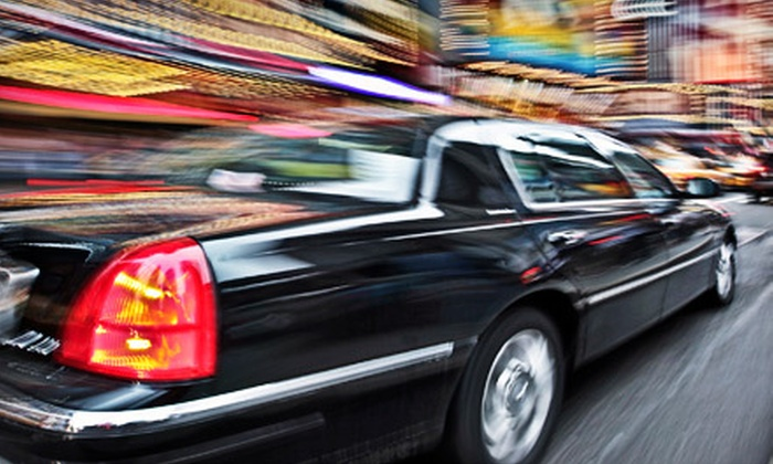 Golden Crown Limousine - Hoboken: One-Way or Roundtrip Luxury Sedan Service to Newark Airport from Golden Crown Limousine (Up to 53% Off)