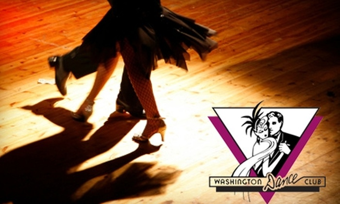 Washington Dance Club - Belltown: $30 for Three Beginner Dance Classes and Two Workshops at Washington Dance Club ($60 Value)