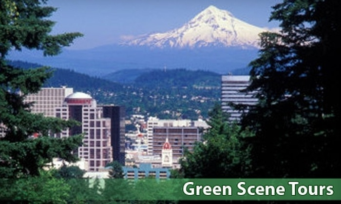 "Green Scene Tours - Downtown: $60 for an All-Day ""The Simpsons,"" Green Scene, or Tree-Lovers Tour with Green Scene Tours ($120 Value)"
