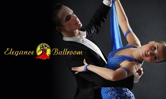 Elegance Ballroom - Northwest Oklahoma City: $12 for Three Private Dance Lessons, One Group Lesson, and One Dance Party at Elegance Ballroom ($125 Value)