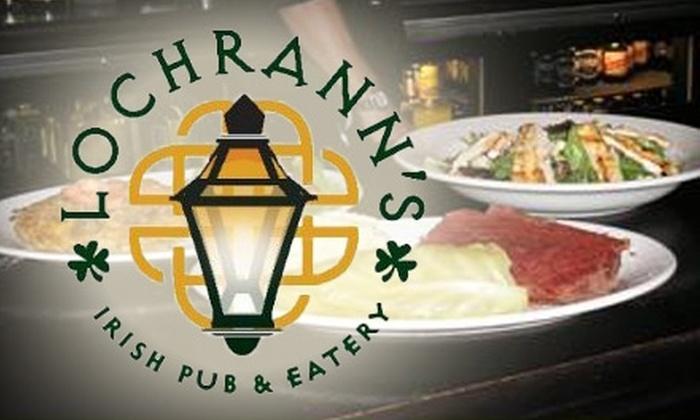 Lochrann's Irish Pub & Eatery - Frisco Square: $10 for $25 Worth of Authentic Irish Cuisine at Lochrann's Irish Pub & Eatery in Frisco