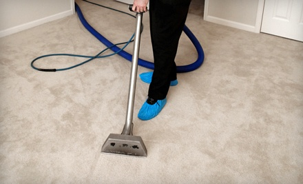 Carpet Cleaning (2 Areas Up to 400 Sq. Ft. and 1 Hallway Up to 50 Sq.Ft.) and Teflon for 1 Area of Up to 250 Sq. Ft. - Evergreen Carpet Care in