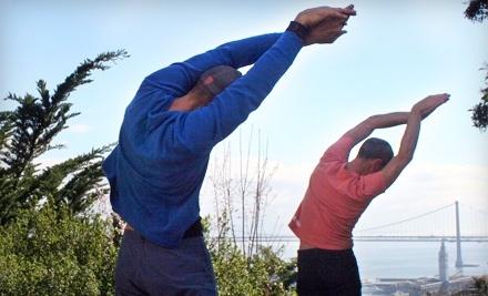 2 Hiking Yoga Classes (a $40 value) - Hiking Yoga in San Francisco