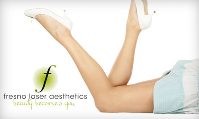 Fresno Laser Aesthetics - Hoover: $149 for Laser Hair-Removal Treatments at Fresno Laser Aesthetics (Up to $1,200 Value). Choose from Two Body-Area Options.