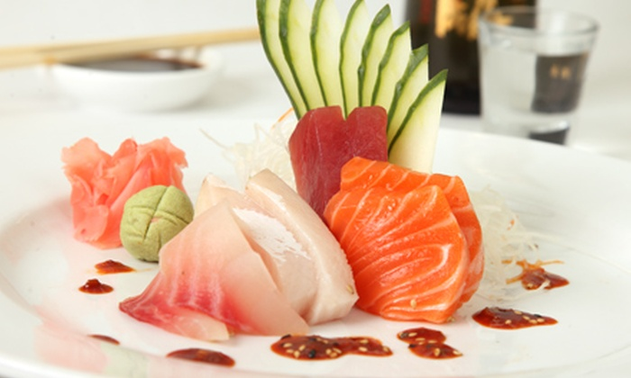 The Drunken Fish - Multiple Locations: $10 for $25 Worth of Sushi and Japanese Cuisine at The Drunken Fish