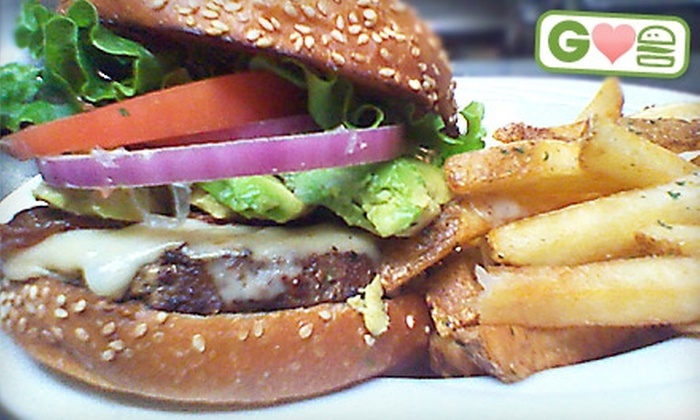 21st Avenue Bar & Grill - Northwest District: $10 for $20 Worth of Burger Combo Plates for Two at 21st Avenue Bar & Grill