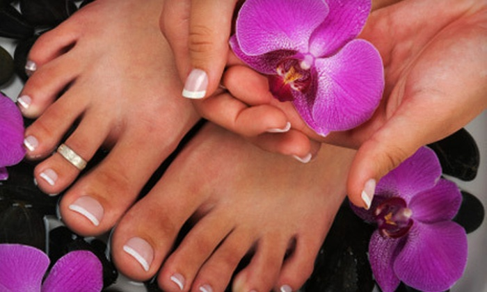Pleasure for Your Sole - Columbia: $39 for a Shellac Mani-Pedi at Pleasure for Your Sole at Christina's Salon ($80 Value)