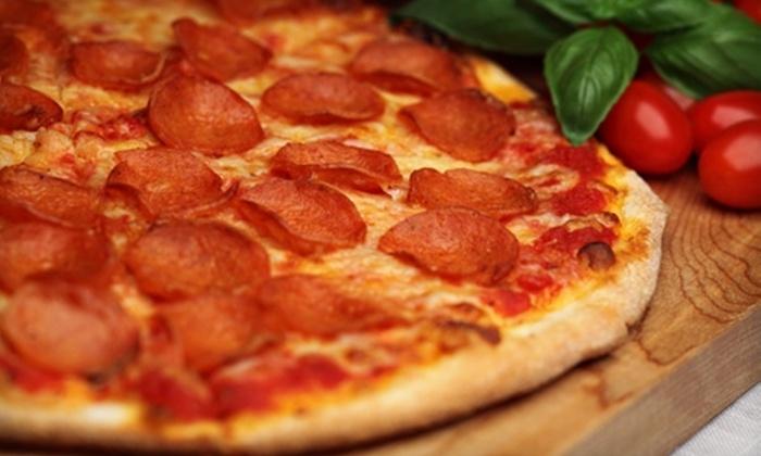No Man's Land Pizza & Grill - Wilmette: $10 for $20 Worth of Pizza and Sandwiches at No Man's Land Pizza & Grill in Wilmette