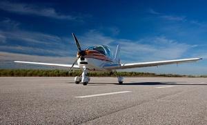 Curso de iniciación al vuelo con 30 minutos de toma de mandos para una persona por 69,95 €
