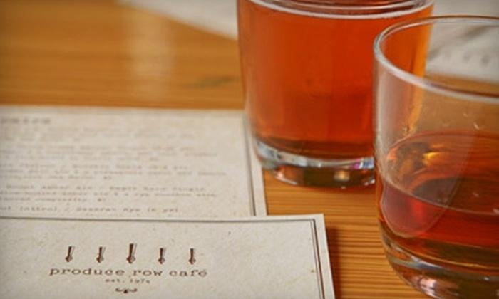 Produce Row Café - Buckman: $7 for $15 Worth of Pub Fare and Pours at Produce Row Café
