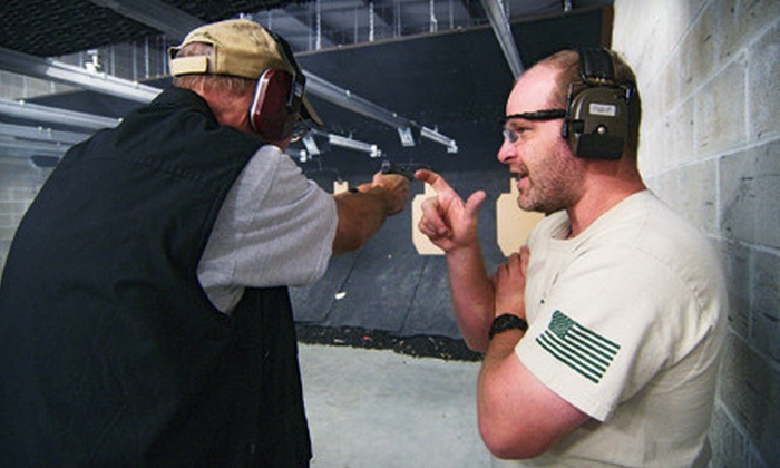 Spring Guns and Ammo - Spring: All-Inclusive Shooting Packages for One or Two or Five One-Hour Range Outings at Spring Guns and Ammo