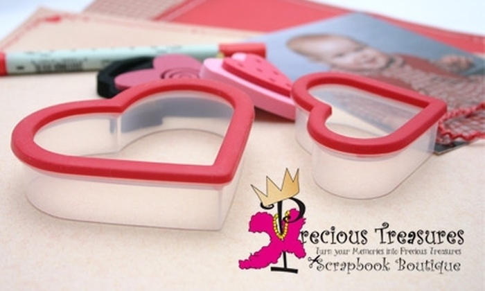 Precious Treasures - Fremont: $15 for $30 Worth of Scrapbooking Supplies, Jewelry, Handbags, and Gifts at Precious Treasures