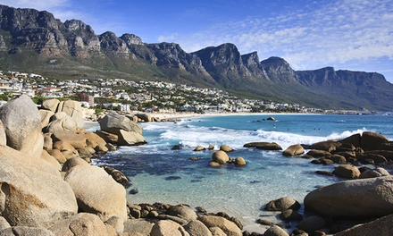 ✈ 8-Day Vacation in South Africa with Airfare from Great Value Vacations. Price per Person Based on Double Occupancy.