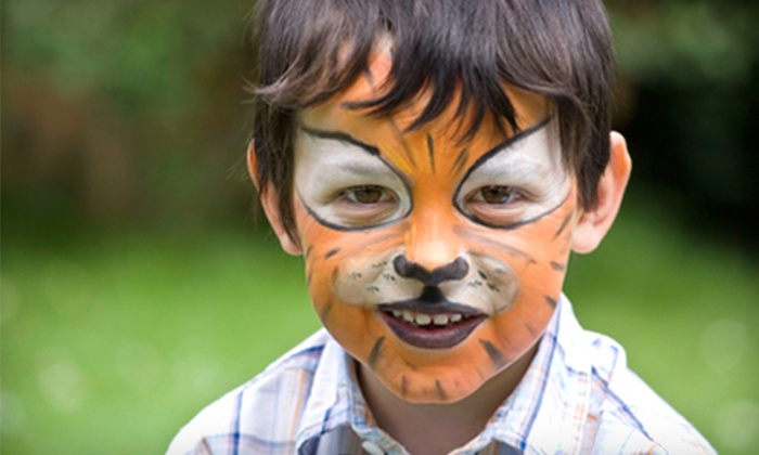 Fab Faces - Saskatoon: $49 for Two-hour Face-Painting or Glitter-Tattooing Party Package from Fab Faces (Up to $100 Value)