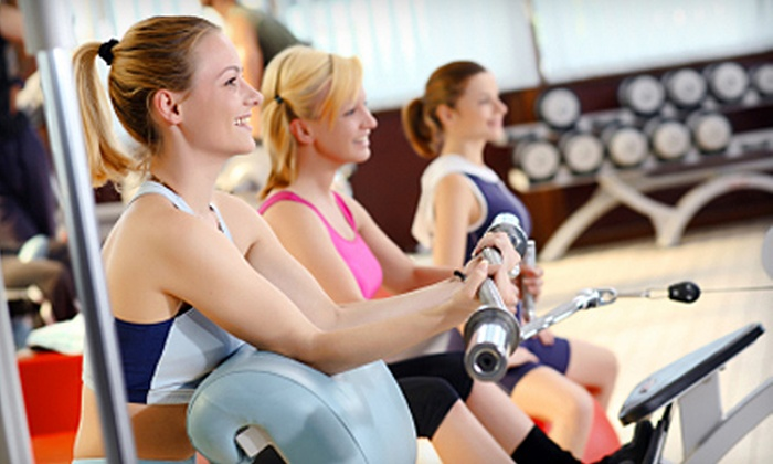 Davis Athletic Club - Green Meadows: Six-Month or One-Month Membership to Davis Athletic Club. Two Options Available.