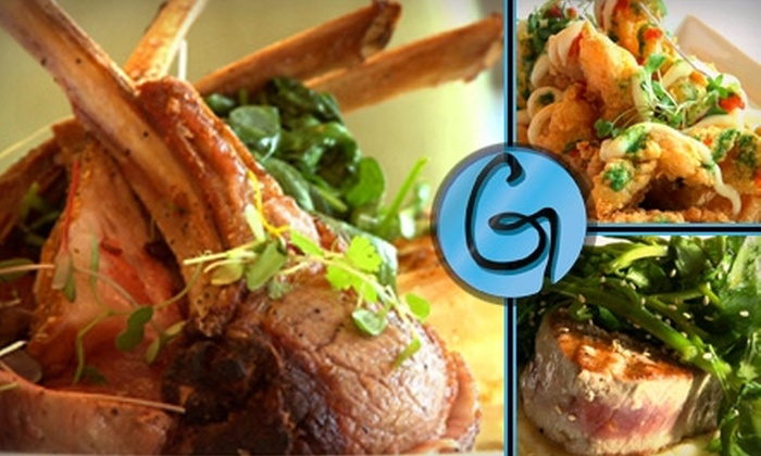G Bar and Kitchen - Swampscott: $20 for $40 Worth of Modern American Fare at G Bar and Kitchen in Swampscott
