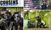 Cousins Paintball - Multiple Locations: $25 for Admission, Gear Rental, and 500 Rounds at Cousins Paintball NYC ($50 Value)