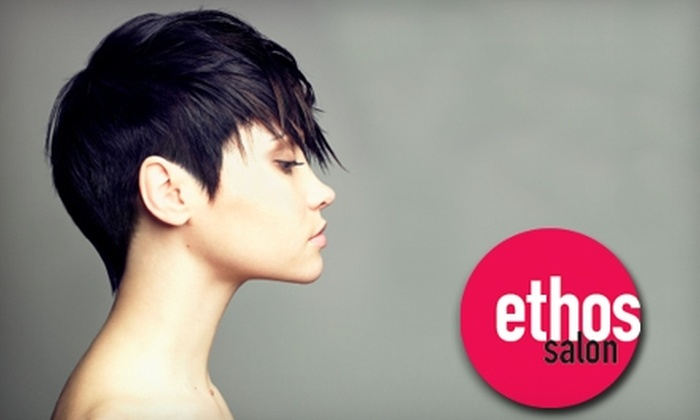 Ethos Salon - Cascade Park: $29 for $65 Worth of Hair Services at Ethos Salon in Vancouver