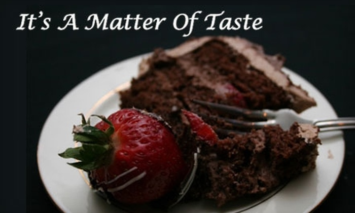 It's A Matter Of Taste - Commerce: $25 for $50 Worth of Eclectic Fare and Drinks at It's A Matter Of Taste in Commerce Township
