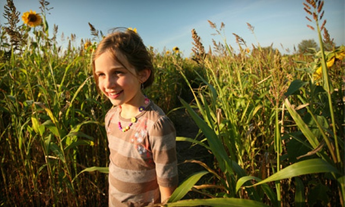 North Georgia Corn Maze - Yonah: Fall-Themed Activity Package for Two at North Georgia Corn Maze in Cleveland (Up to Half Off). Three Options Available.