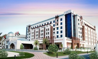 Al Ain: 1 Night For Two With Breakfast, Zoo and Theme Park Tickets at 5* Hili Rayhaan by Rotana