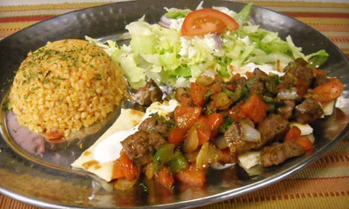 Smyrna Mediterranean Cuisine & Cafe - Fredericksburg: $15 for $30 Worth of Mediterranean Fare at Smyrna Mediterranean Cuisine and Café in Fredericksburg