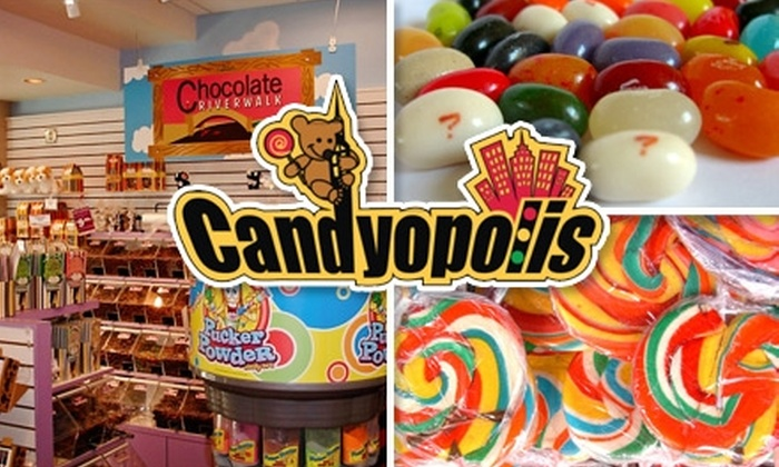 Candyopolis - Multiple Locations: $10 for $25 of Candy, Confections, and More at Candyopolis