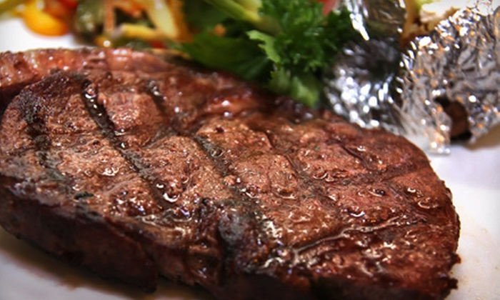 The Buggy Whip - Sacramento: Surf 'n' Turf Dinner for Four or Steak-House Fare for Dinner or Lunch at The Buggy Whip