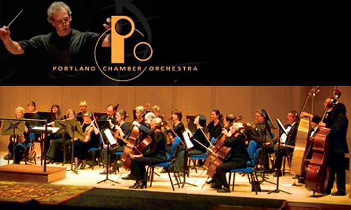 "Portland Chamber Orchestra - Multiple Locations: $12 for One Ticket to ""Chopiniade"" at the Portland Chamber Orchestra. Choose from Two Dates."