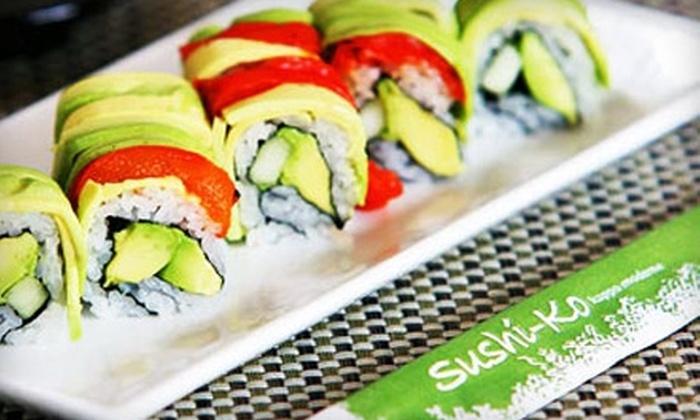 SushiKo - Glover Park: $20 for $40 Worth of Sushi at Sushiko