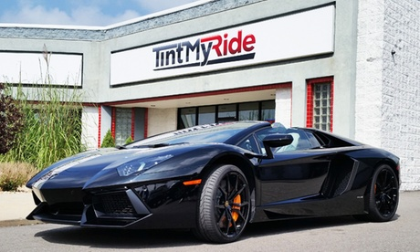Tinting for Two or Five Windows or Clear Bra on Hood at Tint My Ride (Up to 62% Off)