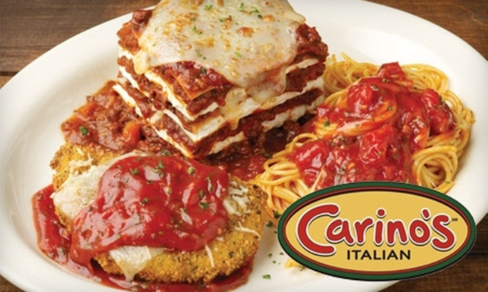 Carino's - Multiple Locations: $10 for $20 Worth of Italian Cuisine at Carino's