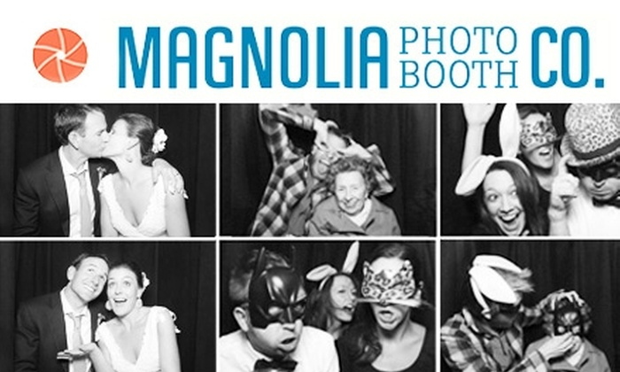 Magnolia Photo Booth Co. - Louisville: $500 for a 4-Hour Photo Booth Rental Package from the Magnolia Photo Booth Co. ($1,300 Value)