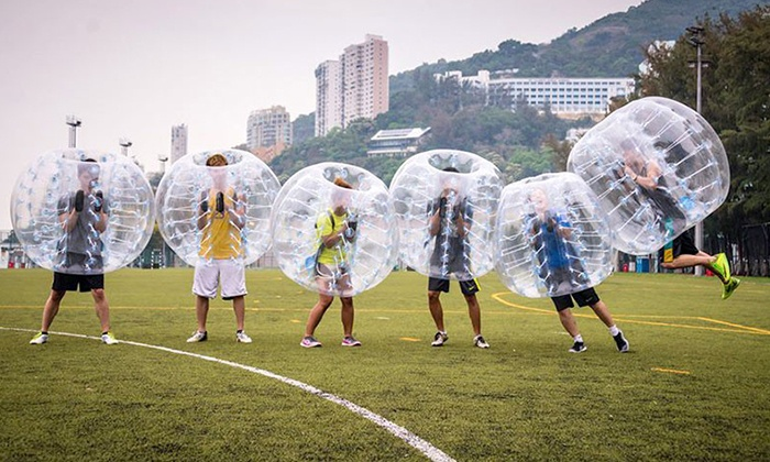 Ultimate Bubble Balls - Sugar House Park: One Game of Bubble Soccer for Up to 12 with Ultimate Bubble Balls (Up to 55%Off)