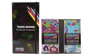 Travel AntiStress Colouring Books