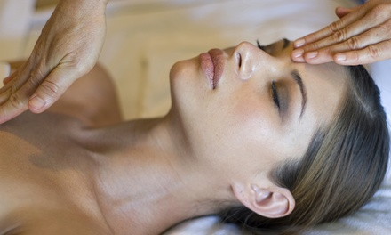 One or Two 75-Minute Restorative Massages with Reiki Treatments from Cara Marie Keicher, LMT (Up to 53% Off)