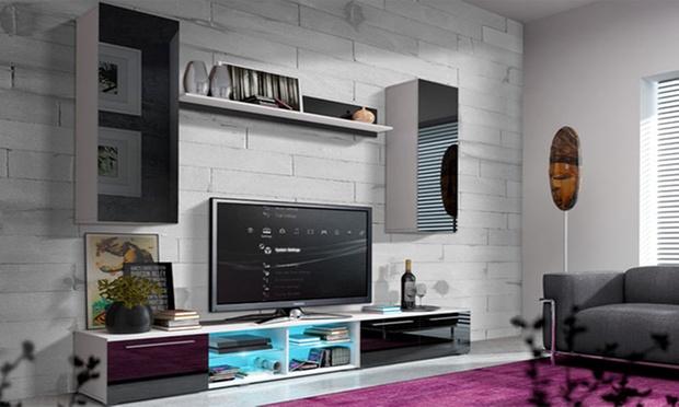 Pareti da soggiorno di design groupon goods for Groupon muebles salon
