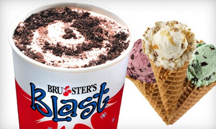 Bruster's Real Ice Cream - Berkeley Lake: $10 Worth of Ice Cream
