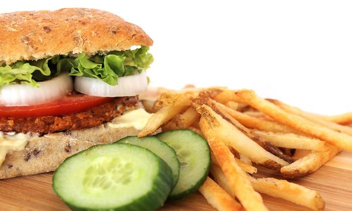Tera V Burger - Kitsilano: $7 for $14 Worth of Vegetarian Burgers and Sandwiches at Tera V Burger