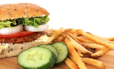 $7 for $14 Worth of Vegetarian Burgers and Sandwiches at Tera V Burger