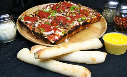 $18 for Two Groupons, Each Good for $15 Worth of Pizza at Noble Romans Pizza ($30 Total Value)