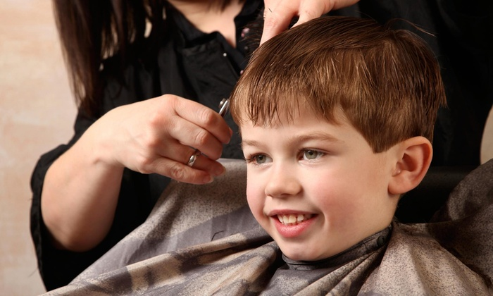 Centric Styles Salon - Bartlett Station: Four Children's Haircut from Centric Styles Salon  (58% Off)