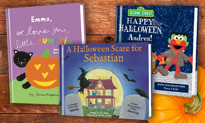 Put Me In The Story: One, Two, or Three Personalized Children's Halloween Books from Put Me In The Story (Up to 56% Off)