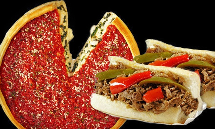 Al's Beef & Nancy's Pizzeria - Chicago Heights: $25 for Five $10 Vouchers Good for Italian Beef and Chicago-Style Pizza at Al's Beef & Nancy's Pizzeria ($50 Value)