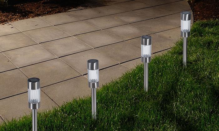 Solar Outdoor Yard Lights: Solar Outdoor Yard Lights (6 Pack)