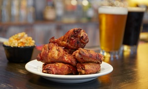 The Block: American Food and Drinks for Two or Four at The Block (63% Off)