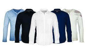 Chemises hommes Tom Tailor